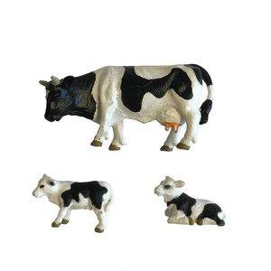 Dutch Farm Koe met Kalfjes 3-delig