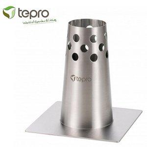 Tepro 8350 Barbecue Kiphouder met Aromareservoir RVS