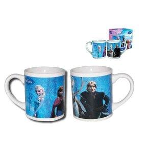 Frozen 8OZ porcelain mug in gift box