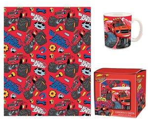 Blaze en de Monsterwielen Keuken Cadeauset (Doek en Mok)