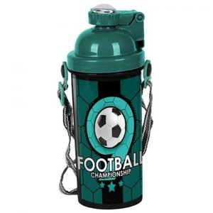 Voetbal drinkbeker championship  Groen en Zwart