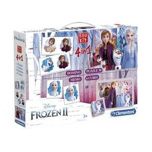Clementoni Disney Frozen 2 Edukit 4in1 Spellen