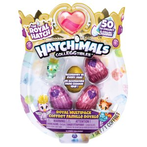 Hatchimals Colleggtibles Royal Hatch 4 Pack Assorti