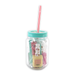Casuelle Yum Yam Manicure Set in Milkshake-Beker