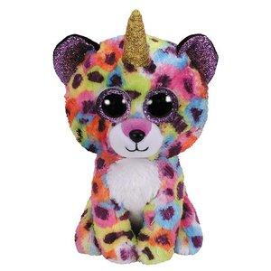 TY Beanie Boo's Luipaard-Eenhoorn Knuffel Giselle 15 cm