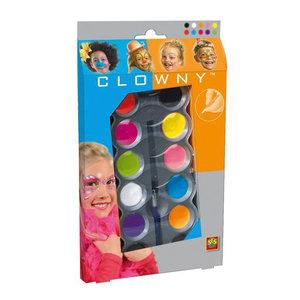 SES Clowny Aquaschmink 10 Trendy Kleuren