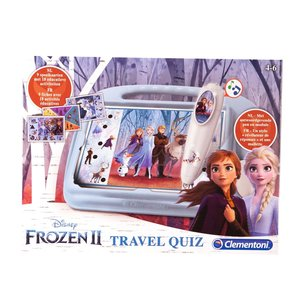 Clementoni Disney Frozen 2 Travel Quiz met Geluid