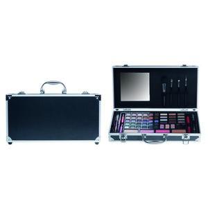 Casuelle Make-Up Koffer met Spiegel Zwart