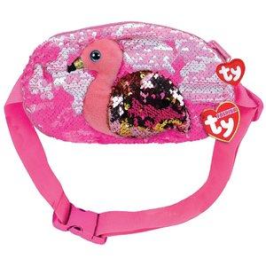 TY Fashion Heuptas Flamingo Gilda 20 cm Roze/Goud