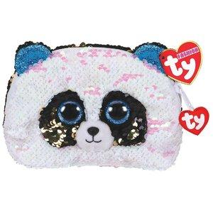TY Fashion Handtas Panda Bamboo 20 cm Zwart/Wit