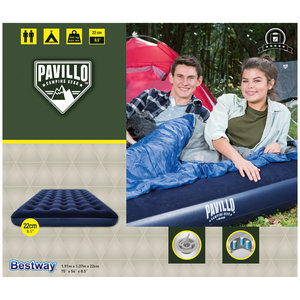 Bestway 2-Persoons Luchtbed Pavillo 191x137x22cm