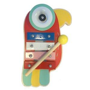 Simply for Kids Houten Papegaai Xylofoon