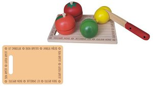 Simply for Kids Houten Fruit Snijset