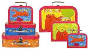 Bambolino 3-Delige Kofferset Dikkie Dik