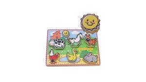 Simply for Kids 56438 Boerderij Dieren Puzzel
