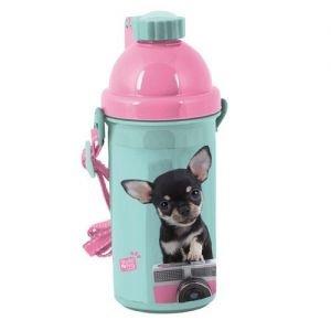 Studio Pets - Drinkbeker 500 ml chihuahua Smile - Blauw en Roze