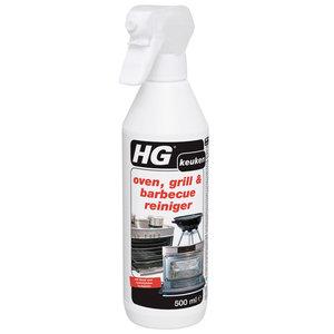 HG Oven- Grill- en Barbecuereiniger Snelwerkend 500ml