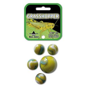 Don Juan Grasshopper Knikkers 21 Stuks 16+25 mm