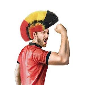Belgian Red Devils Mohawk Wig