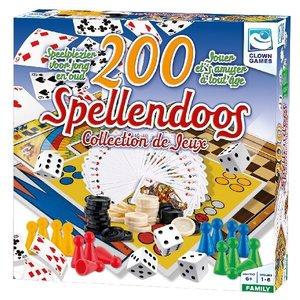 Clown Games Spellendoos 200-delig NL/FR