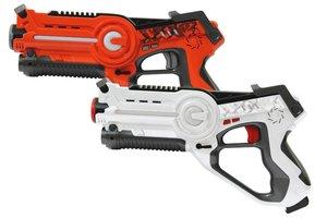 Jamara JAM-410037 Lasergevecht Set + Licht & Geluid Oranje/Wit