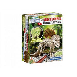 Clementoni Triceratops Fluor Archeospel 7+
