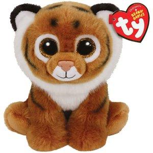 TY Beanie Babies Knuffel Tijger Tiggs 15 cm