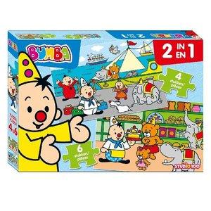 Bumba 2In1 Puzzel 4 en 6 Stukjes