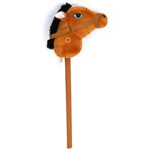 Pluchiez Pluche Stokpaardje met Geluid 68 cm