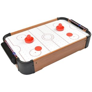 Air Hockey Set 51x30,5x10 cm Hout
