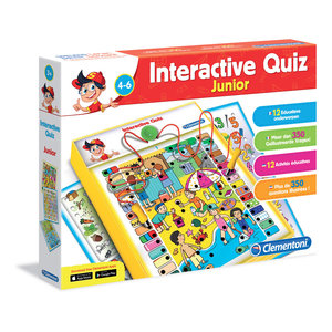 Clementoni Interactieve Quiz Junior 4-6 jaar