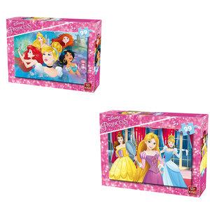 King Disney Princess Puzzel 99 Stukjes Assorti