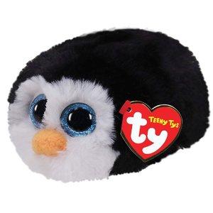 TY Teeny Tys Pinguïn Knuffel Waddles 10 cm