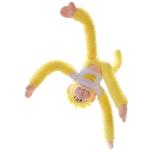 Rainbow Monkey Bennana Knuffel 40cm
