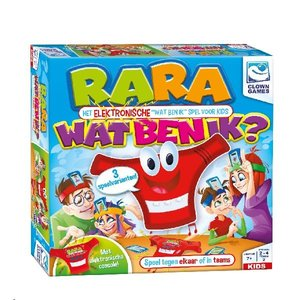 Clown Games Clown Rara Wat Ben Ik? Elektronisch Spel