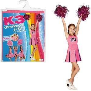 K3 Verkleedjurk Cheerleader 3-5 jaar