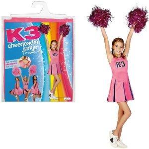 K3 Verkleedjurk Cheerleader 6-8 jaar