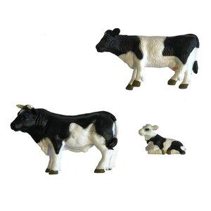 Dutch Farm Stier met Koe en Kalf