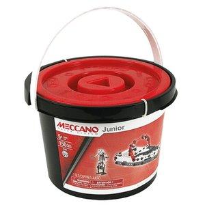 Meccano Junior Emmer 150 Stuks + 2 Stuks Gereedschap