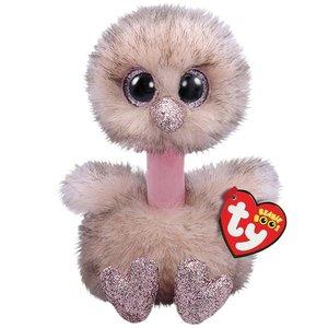 TY Beanie Boo's Struisvogel Knuffel Henna 15 cm