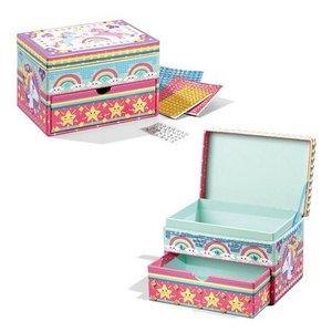Totum Eenhoorn Glitter Mozaïek Box