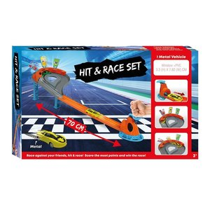 Racebaan Hit and Race Set met Auto