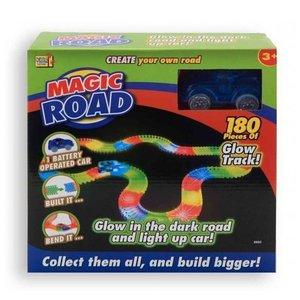 Kids Fun Magic Road Glow In The Dark Set + Licht 180-delig