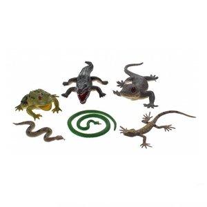 Animal World Reptielen 6 Stuks