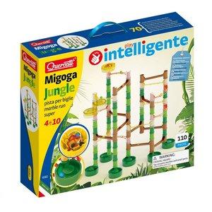 Quercetti Jungle Knikkerbaan 110-delig