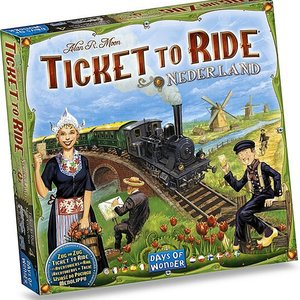 Asmodee Ticket To Ride Nederland