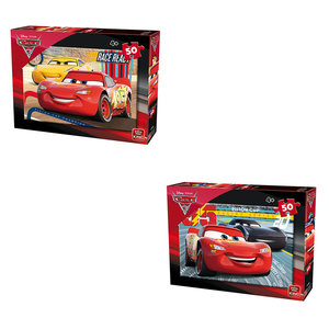 King Puzzel Cars 3 50 stukjes Assorti