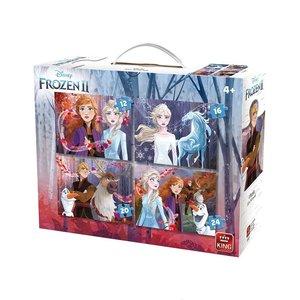 King 4in1 Puzzel Disney Frozen 2 12-16-20-24 Stukjes