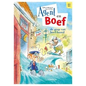 Boek AVI M3 Agent en Boef de Grap van Boef-Baard