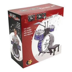 Hot Rock Drumstel met Kruk 68x51x27cm